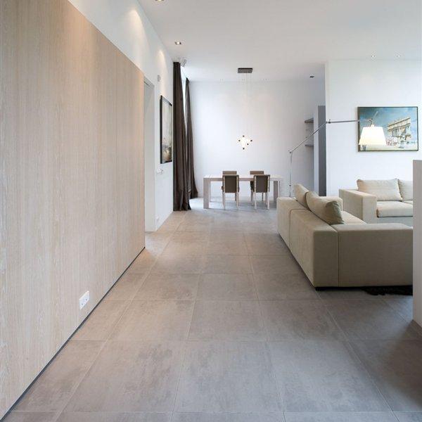 Mosa Terra Maestricht Mid Grey 100 215 600 Tile Lounge